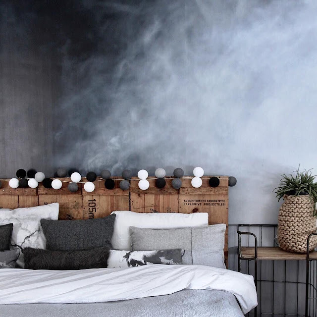 Wallpaper Dinding Kamar Tidur Aesthetic Bernuansa Dingin