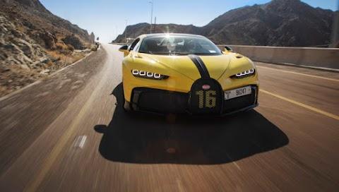 Taking the Bugatti Chiron Pur Sport for a Drive