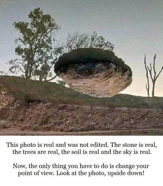 Rock illusion