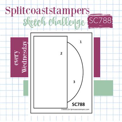 Splitcoaststamper Card Sketch Challenge 788
