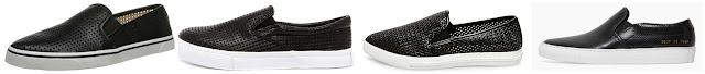 Three of these pairs of perforated sneakers are under $50 and one is from Woman by Common Projects for $449. Can you guess which one is the more expensive pair? Click the links below to see if you are correct!