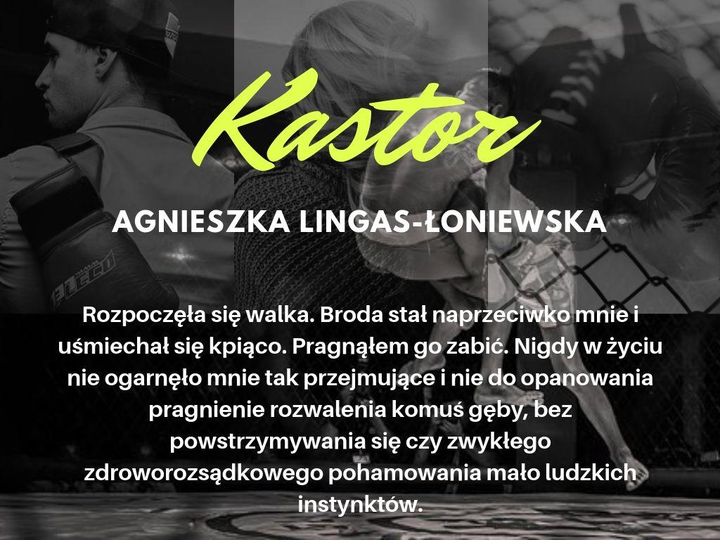 Zaczarowana Książka Agnieszka Lingas łoniewska Kastor