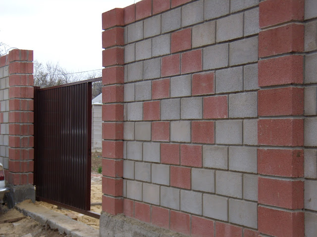 Забор французского камня Севастополь