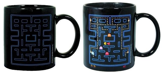 Taza térmica Pac-Man