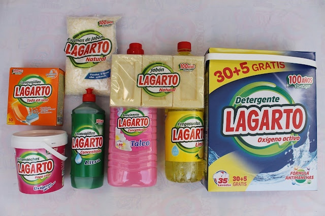 review productos lagarto