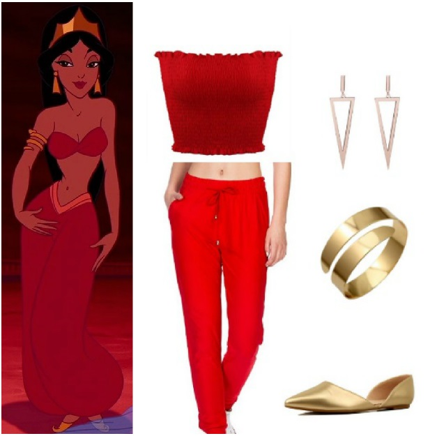 Diy Disney Princess Jasmine Costume Disney Halloween Costumes