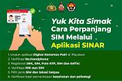 Begini Cara Perpanjangan SIM Online Melalui Aplikasi SINAR