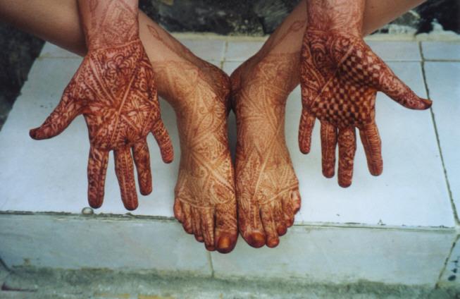 Red Henna Tattoo: HENNA DESIGNS: Red Henna Photos 202