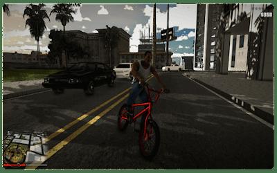 GTA San Andreas remastered PS5
