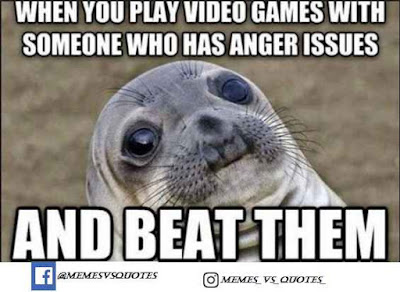 Play Game With Someone Who Has Anger Issues