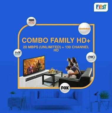 Paket Combo FAMILY HD+