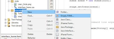 Cara Menimpa Container Utama dengan Container Lain Pada JavaFX 2