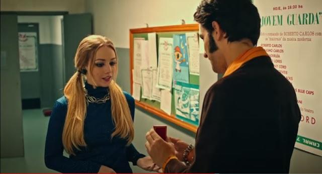 Erasmos Carlos (Jay suede) e Wanderlea cena do filme