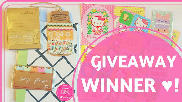 KooriStyle, Koori Style, winner, giveaway, sorteo, rifa, internacional, international, stationery, bullet journal, planner, journal, agenda, planning, cute, kawaii