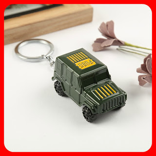 PUBG Battle Royale Jeep Keychain Pendant Keyring