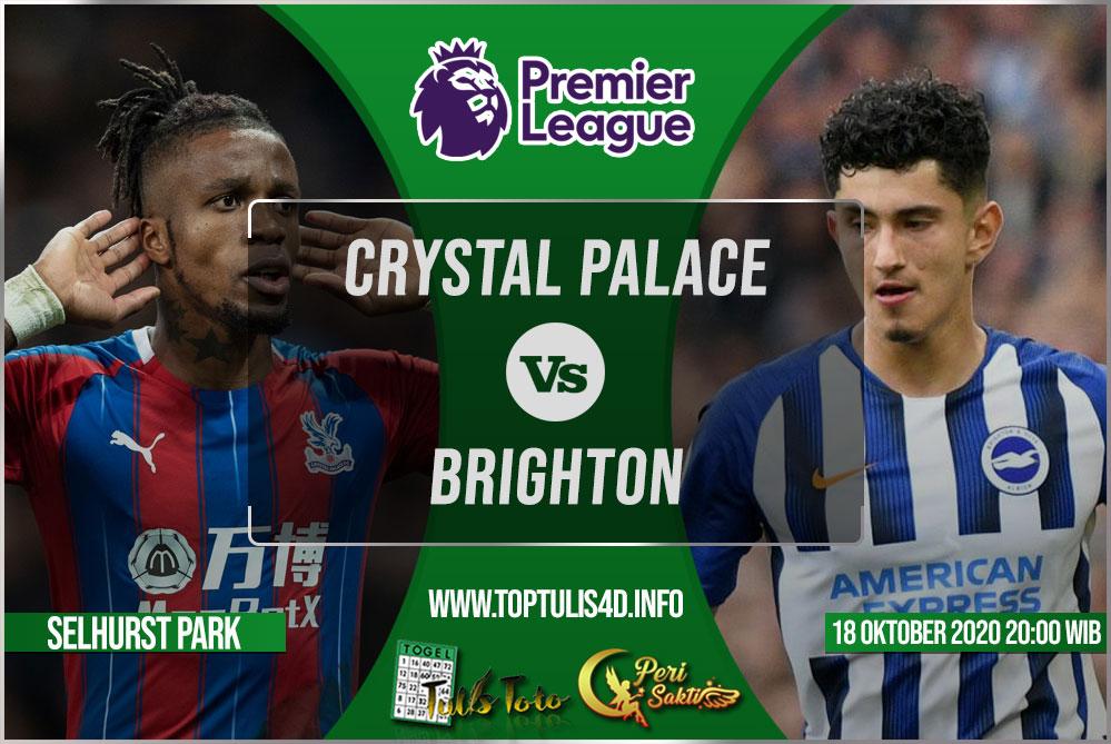 Prediksi Crystal Palace vs Brighton 17 Oktober 2020