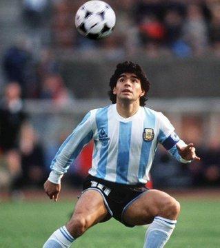 Diego Maradona's Kits