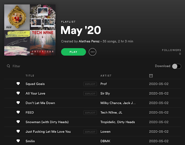 What We Listened to in May 2020