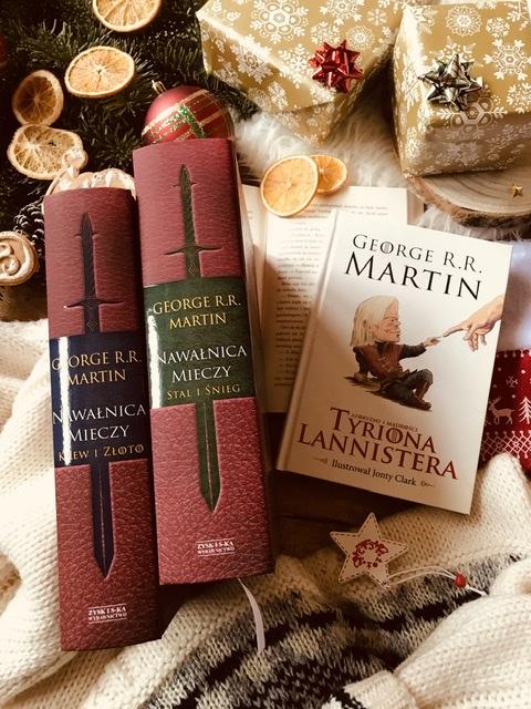 George R.R.Martin, Gra o tron, Nawałnica mieczy (wersja ilustrowana) // Aforyzmy i mądrości Tyriona Lannistera