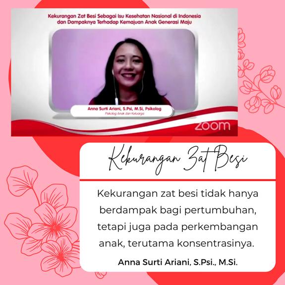 Psikolog Anak dan Keluarga, Anna Surti Ariani, S.Psi., M.Si.