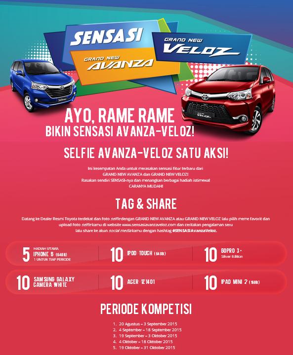pengalaman grand new veloz all alphard 2017 indonesia sensasi avanza harga toyota auto 2000 medan 2019 selfie satu aksi