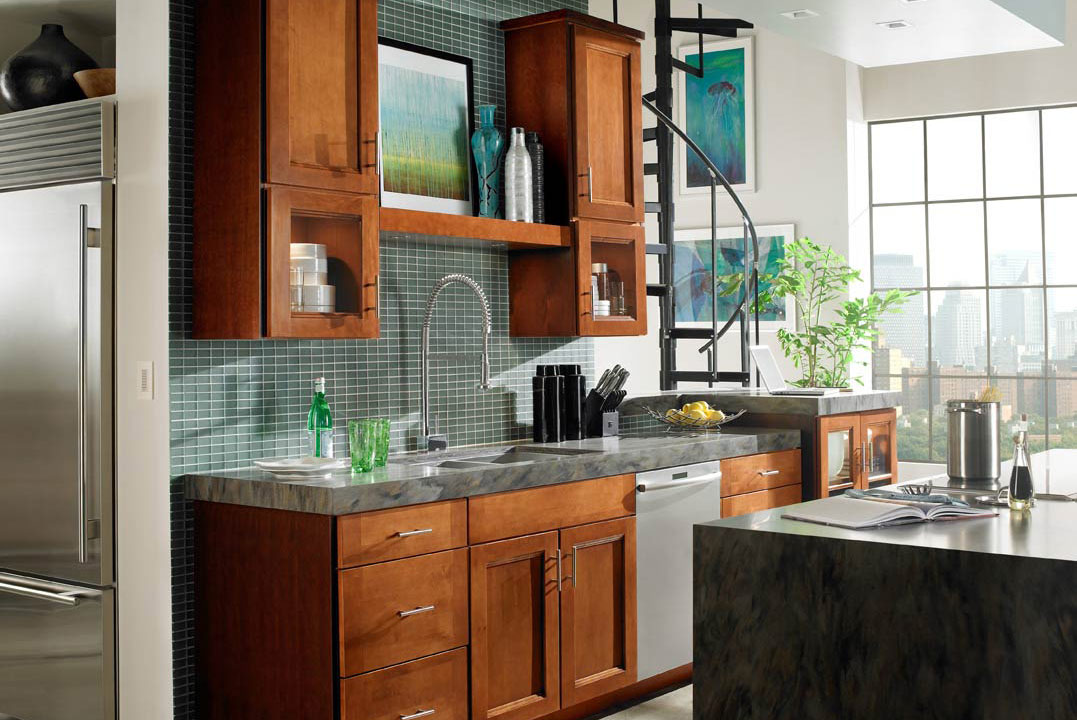 Assembled Kitchen Cabinets For Sale Waypoint Living Spaces: 420s