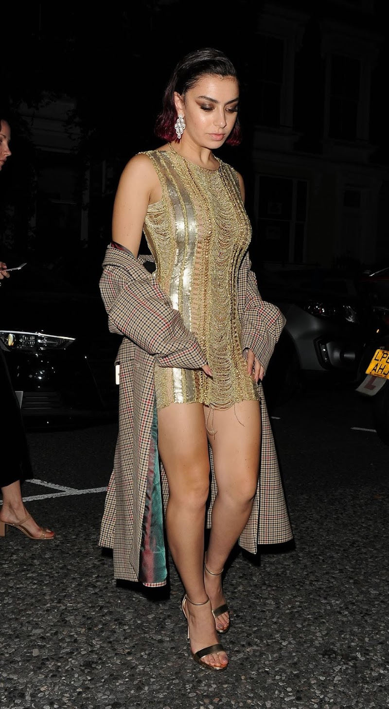 Charli XCX at GQ Men of the Year Afterparty in London 3 Sep-2019