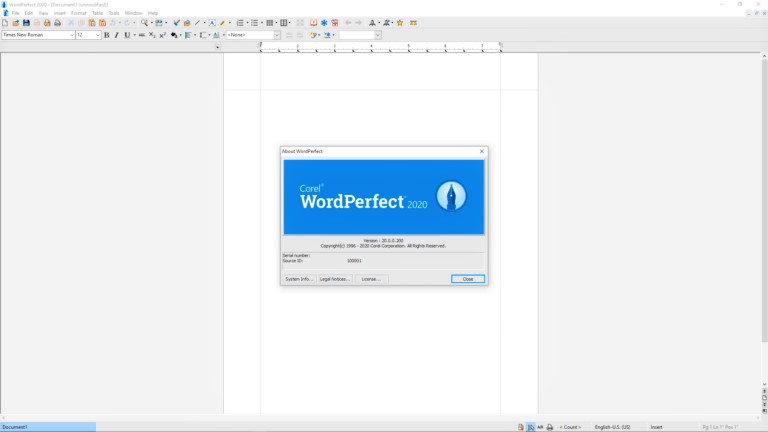 Corel WordPerfect Office 2020 Full Version