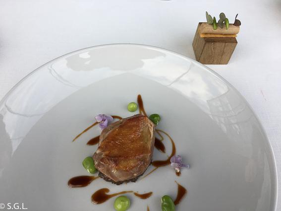 Pichon en Azurmendi. Experiencia gastronomica