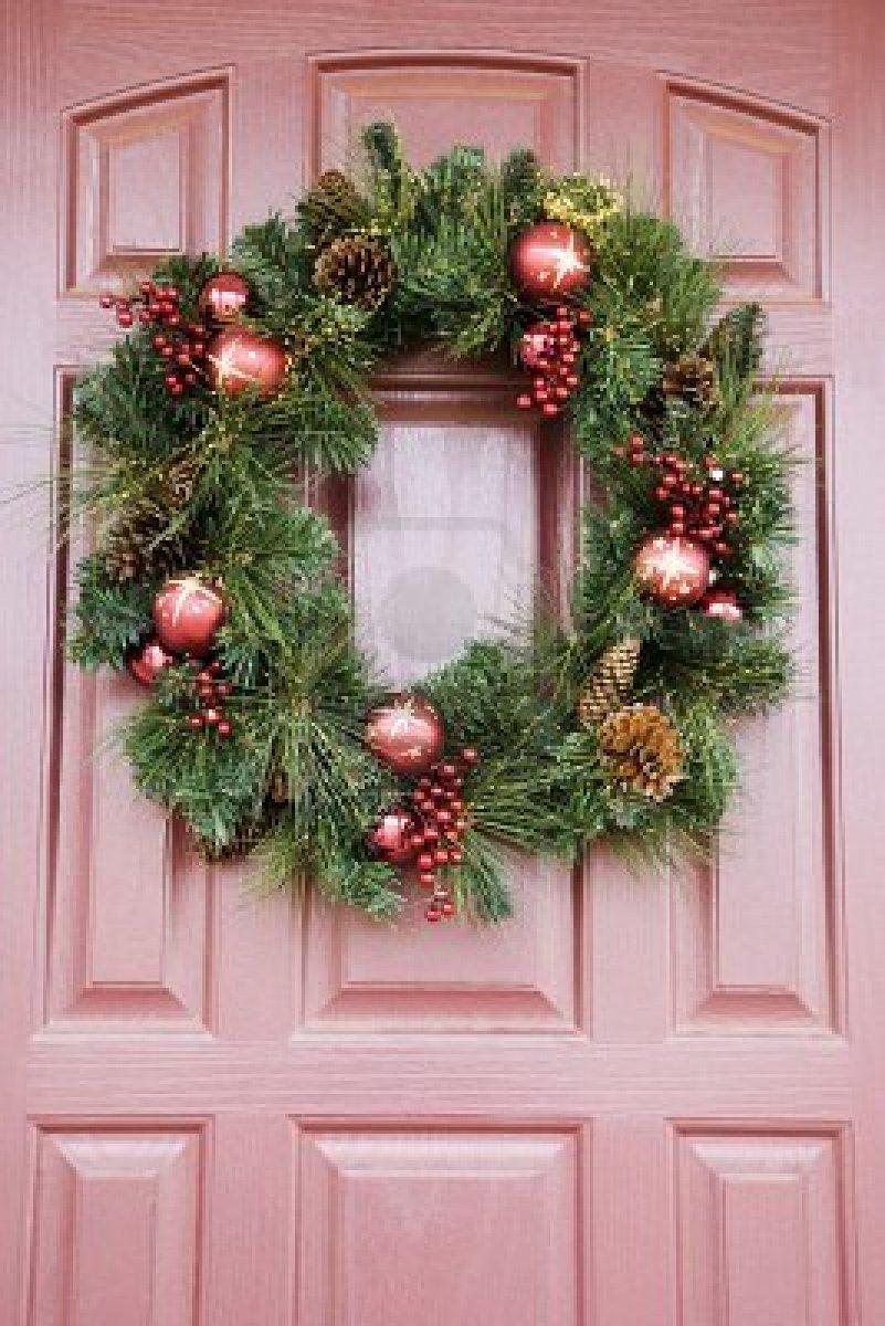 Como Decorar La Entrada De Tu Casa En Navidad