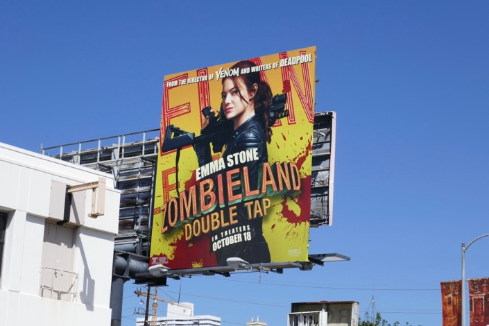 Zombieland Double Tap billboard