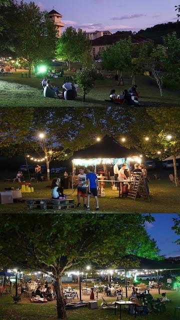 Carnavale no Wine Garden da Vinícola Miolo em Bento Gonçalves