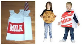 Milk carton costume Halloween Idea 2017