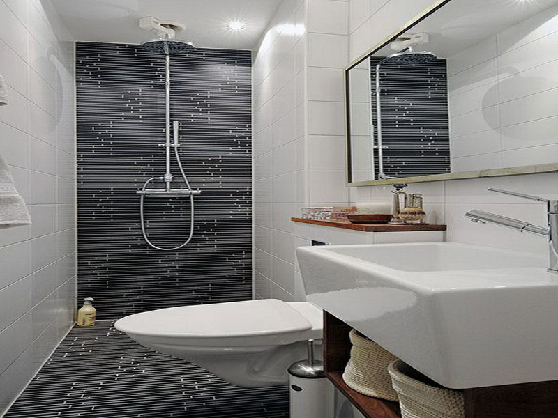 Small Bathroom Model With Nice Furniture For Limited Space ... on Nice Bathroom Designs For Small Spaces  id=46188