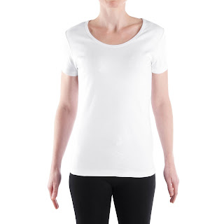 Camiseta blanca base para transfer