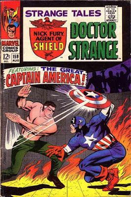 Strange Tales #159, Captain America vs Nick Fury
