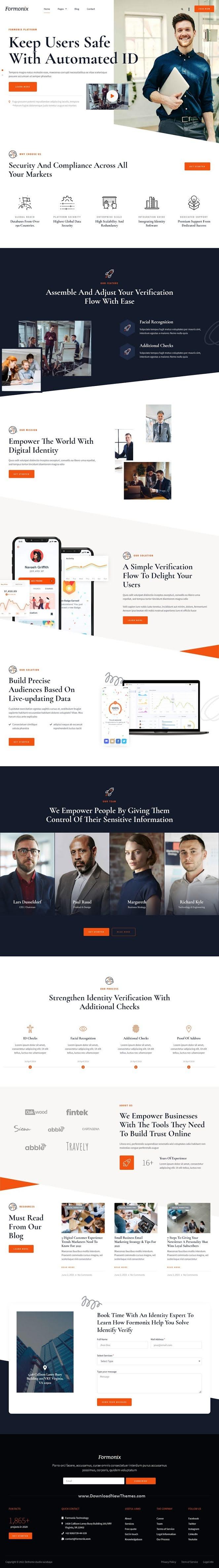 Startup & Tech Company Elementor Template Kit