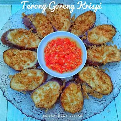 Resep Terong Goreng Krispi By @siska_dewi_lestari