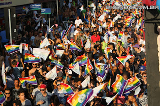 IMG 9943 - 13ª Parada do Orgulho LGBT Contagem reuniu milhares de pessoas