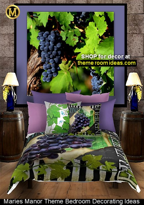 tuscan decorating ideas grapevine bedding grapes wall art mural grapes bedrooms grapes decoration tuscan grape kitchen decor