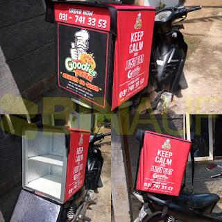 Produsen Tas delivery makanan surabaya goodies pizza