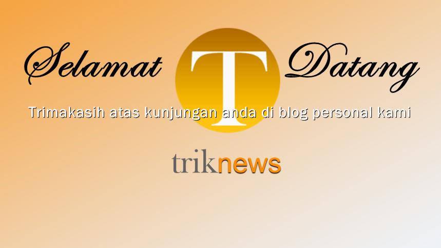Logo dan judul blog baru situs triknews