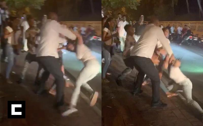 Video: Dos mujeres se van al bollo por el papá de Robinson Canó