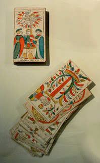 Imagen del mazo de las cartas del Tarot