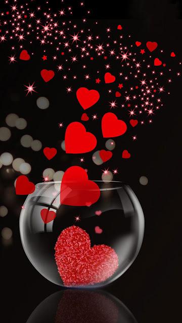 lovely iphone wallpaper love heart