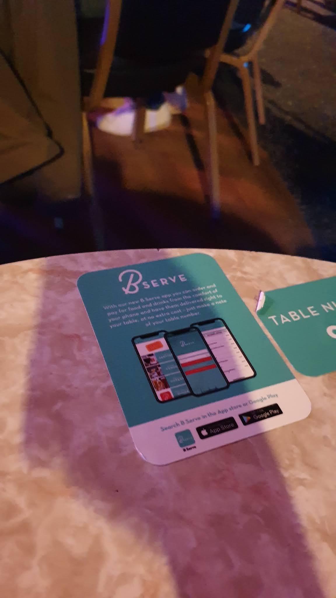 b serve app sign