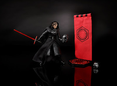 "Star Wars Celebration 2016 Exclusive Star Wars Black Series Unmasked Kylo Ren 6"" Action Figure by Hasbro"
