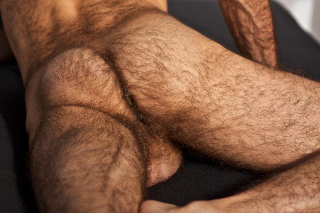 very very hairy men