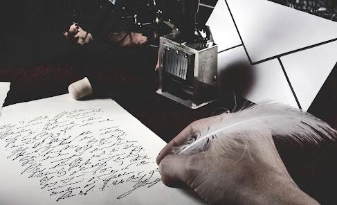 Escritura, poetico
