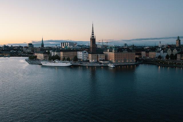 Do Aeroporto de Estocolmo para o centro da cidade